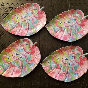 Flamingo plates